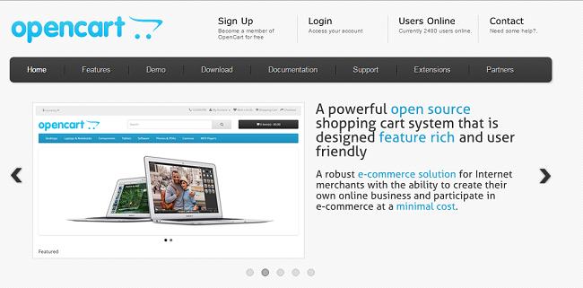 01 OpenCart- Ecommerce Platform