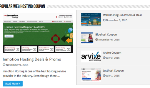 01. Web Hosting Coupons