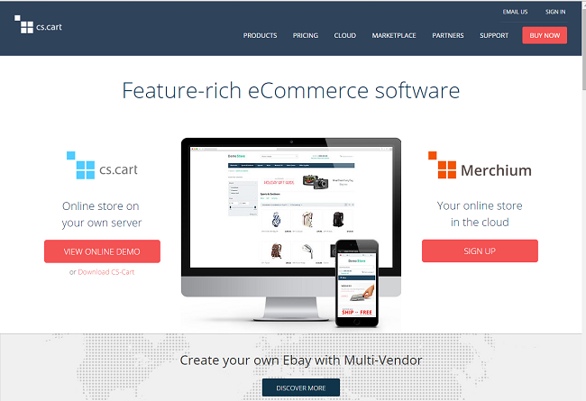 04 CS Cart - Ecommerce Platform