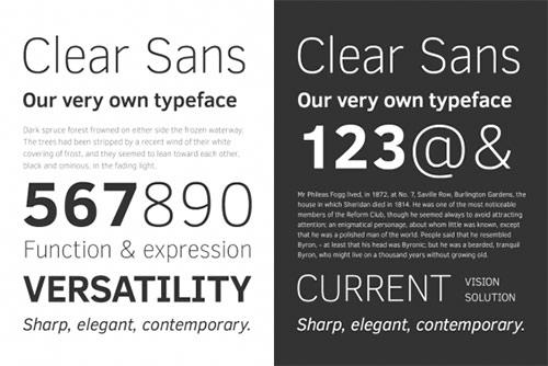 07. Clear Sans