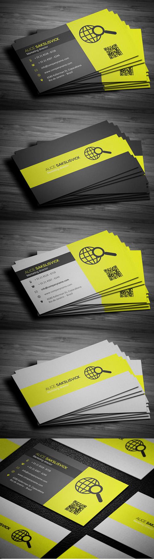 1. Corporate Business Card