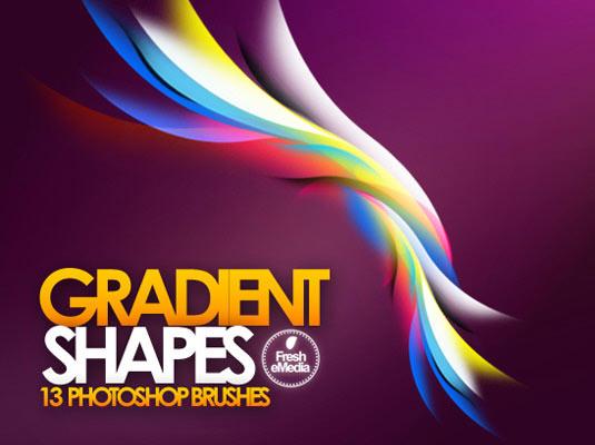 10Gradient shapes