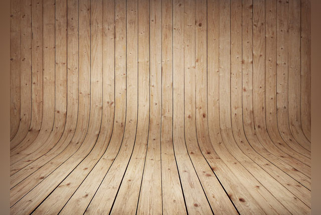 11. Curved Wood Textures