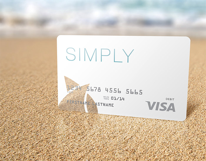 "11.Seacoast National Bank ""Simply"" Debit Card"