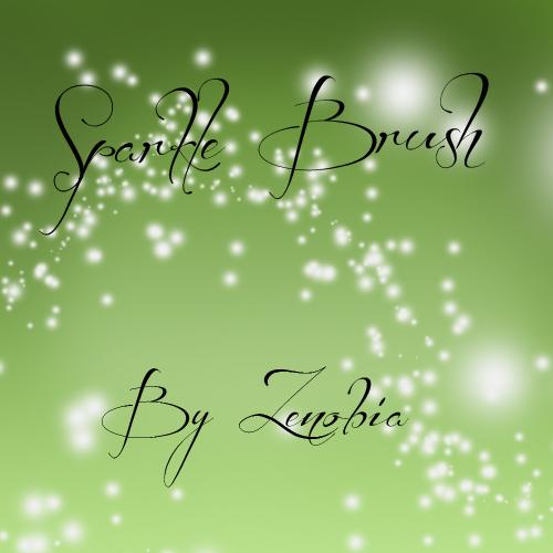 11Sparkle brush