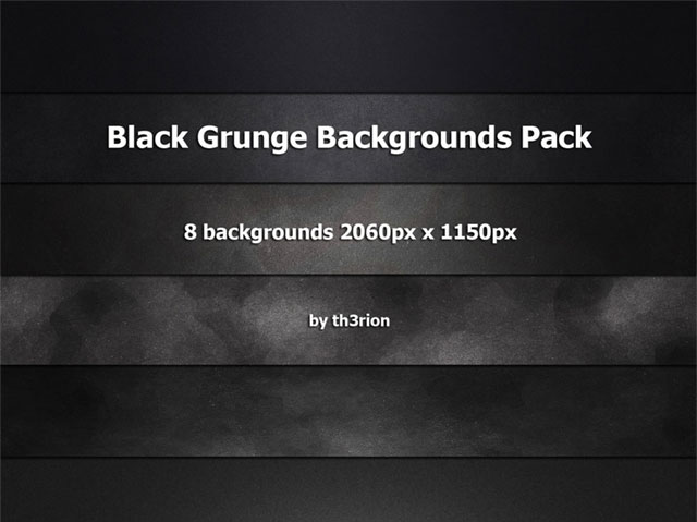 12. Dark Grunge Backgrounds Pack