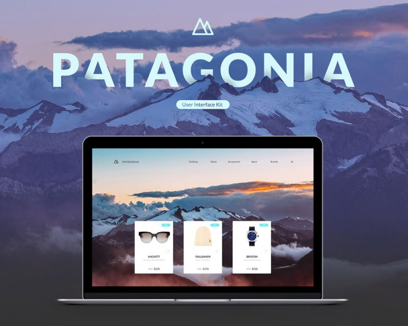 Patagonia Web UI Kit