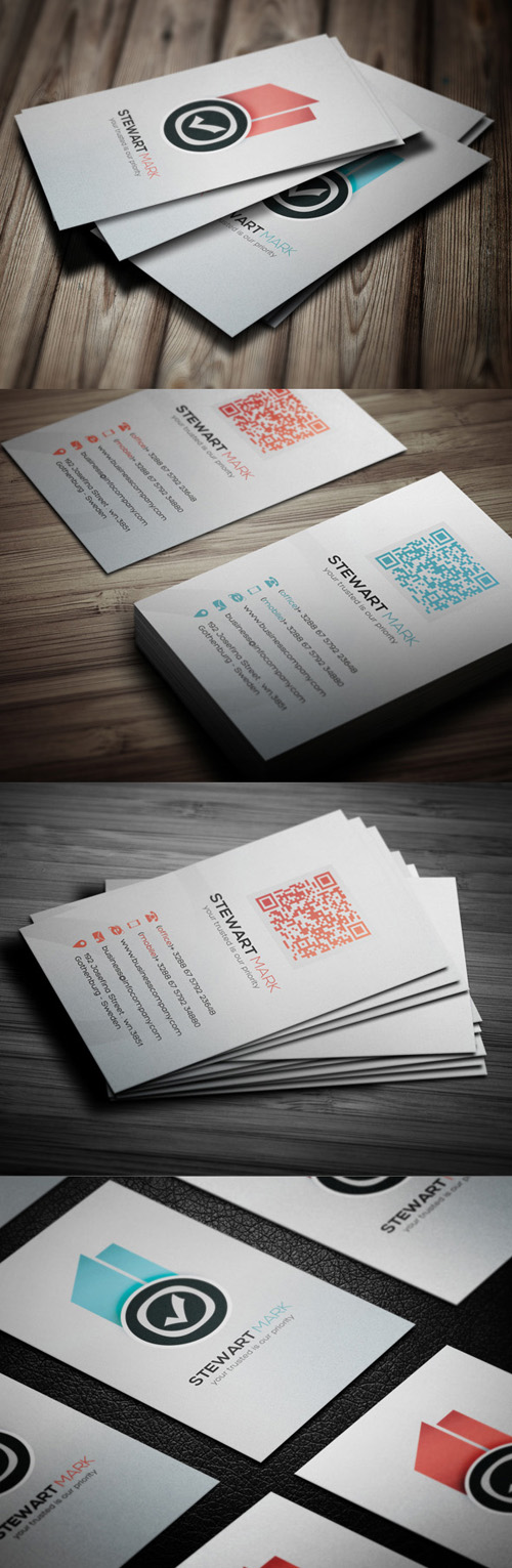 14. Creative Design Business Card