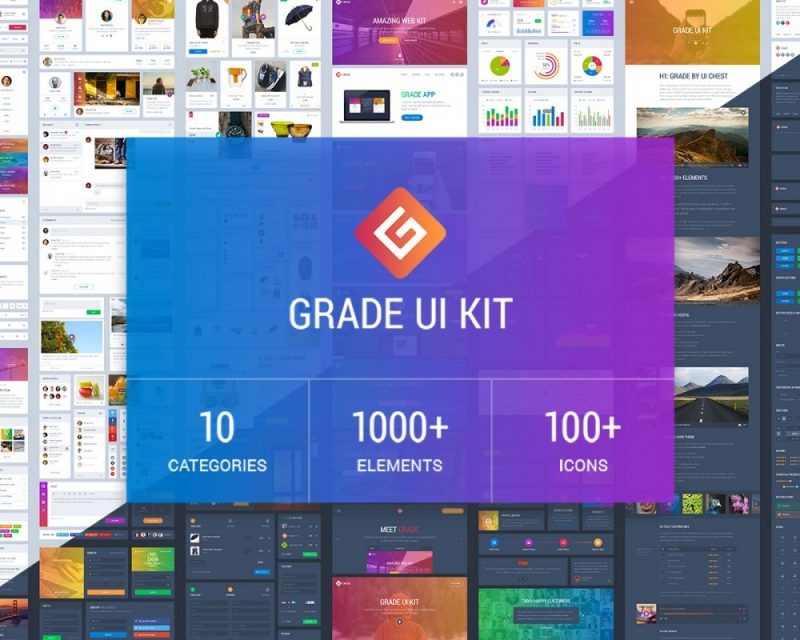 Grade Web UI Kit