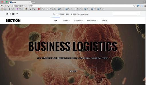 Section Multipurpose Business-Free-Responsive-Joomla-Templates