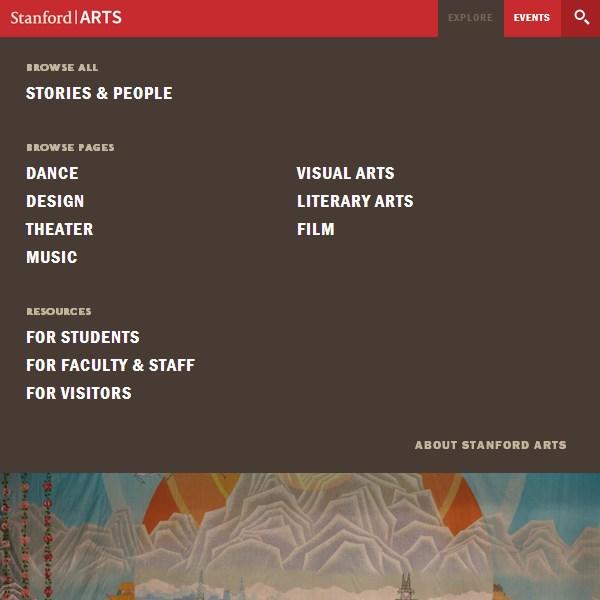 14. Stanford Arts