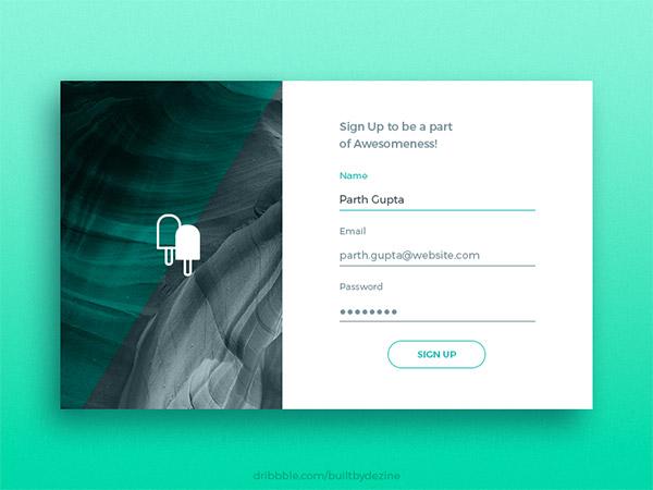 Signup- sign up form