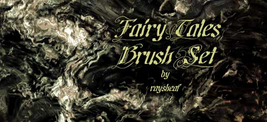 16Fairy tales brush set