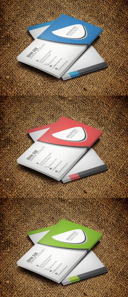 17. Modern Business Card
