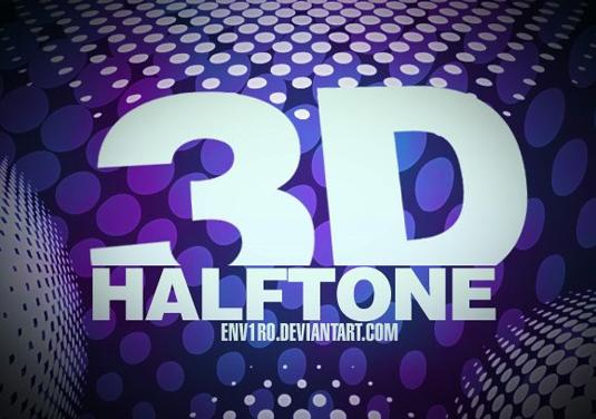 18D Halftone