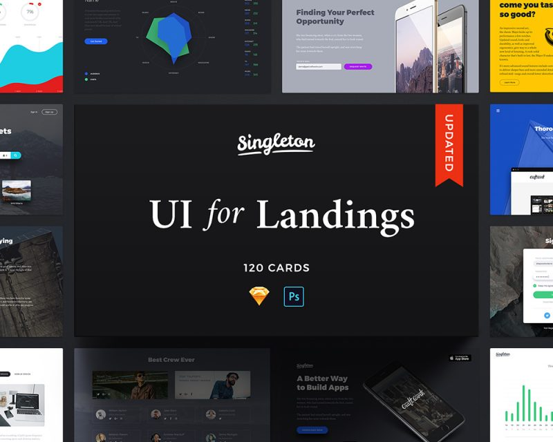 Singleton Web UI Kit