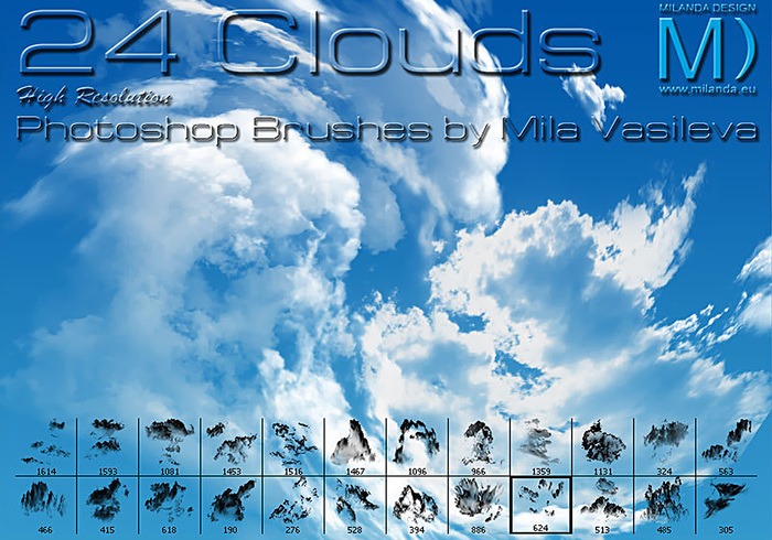 1Cloud brushes