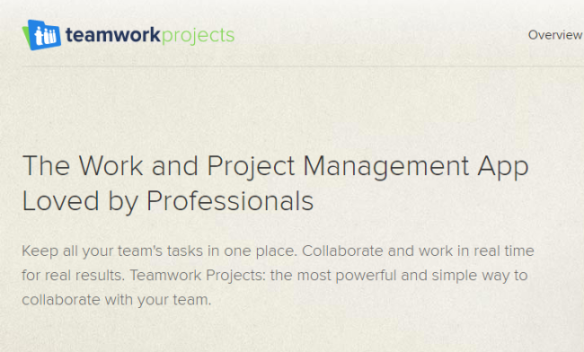 Teamwork Projects-Project Management Software