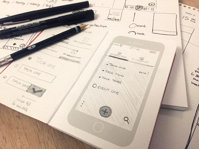 UX UI Sketches