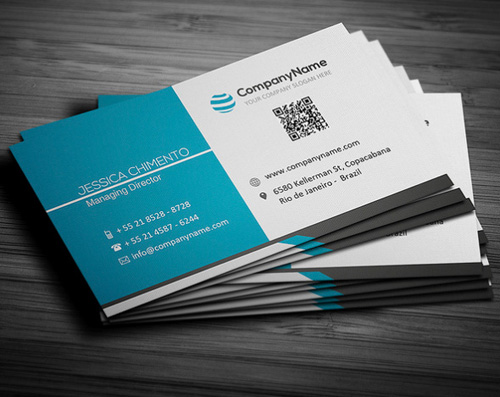 20 Best Corporate Business Cards Designs For Your Inspiration