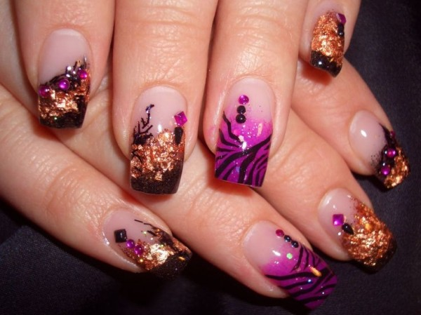 Beautifully Designed Nails 22