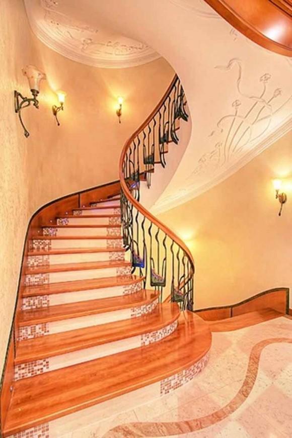 30 fabulous pretty designs of ceilings for Stair designer online