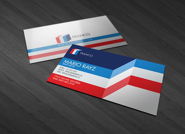 50 Distinctive Business Cards Designs