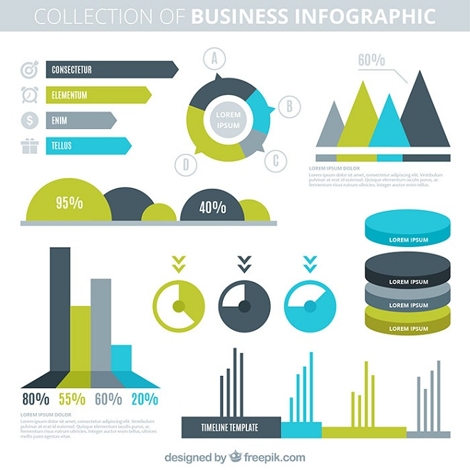 30 awesome free infographic templates to download for Sports infographics templates