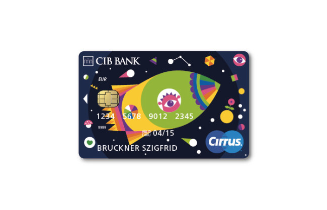 22.Space travel bank card designs