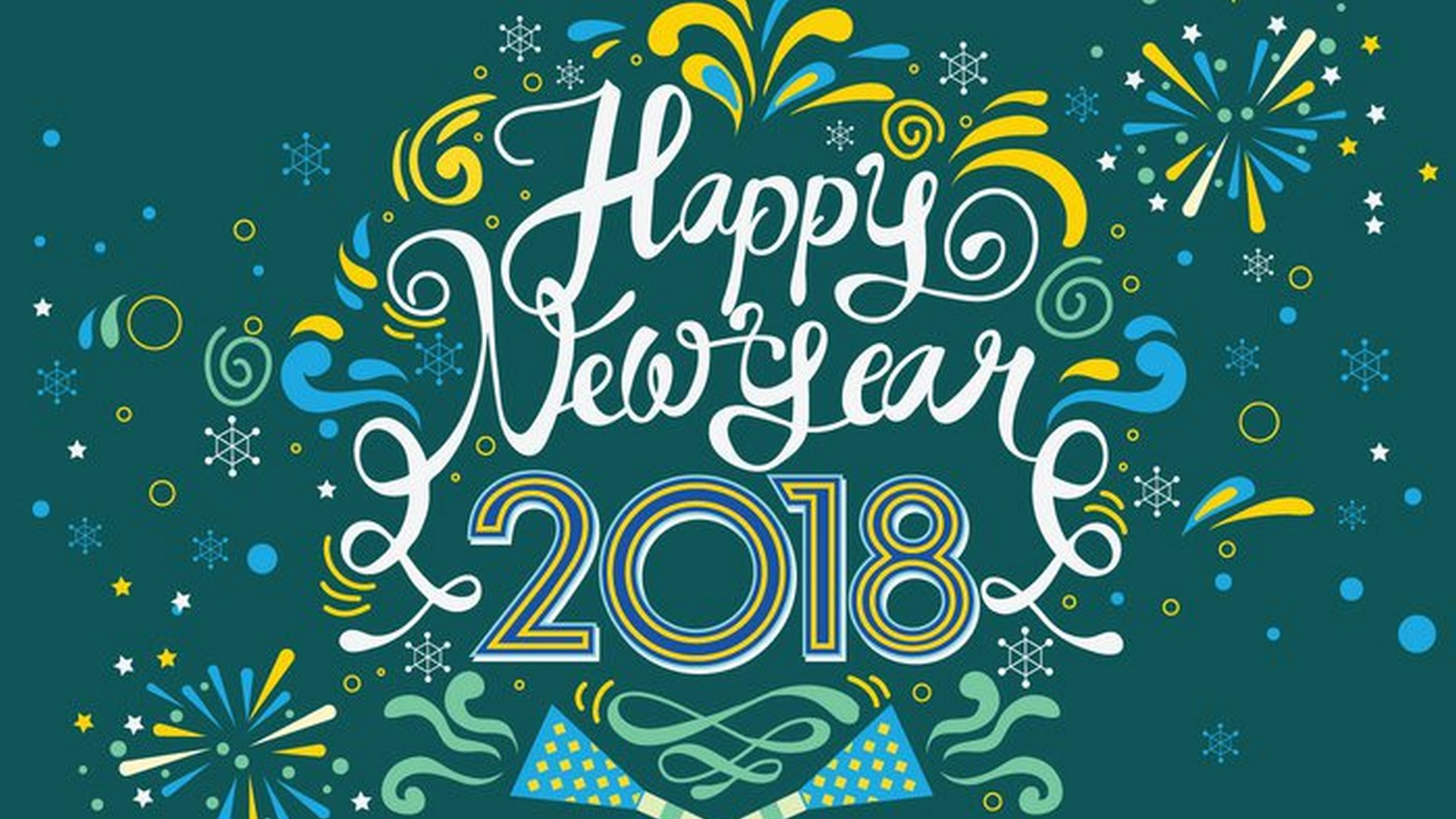 30 Happy New Year 2018 HD Wallpapers to Beautify Your Desktop