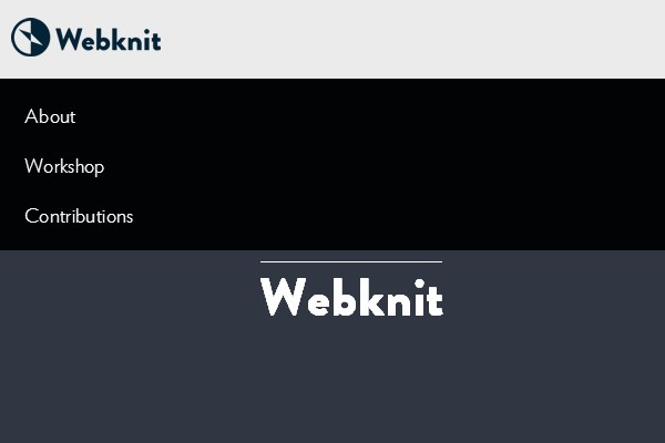 25. Webknit
