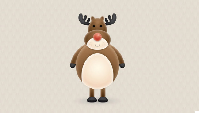 27-cute-vector-reindeer
