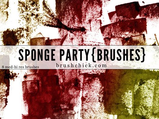 27Sponge party