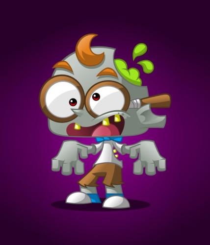28-geek-zombie-mascot