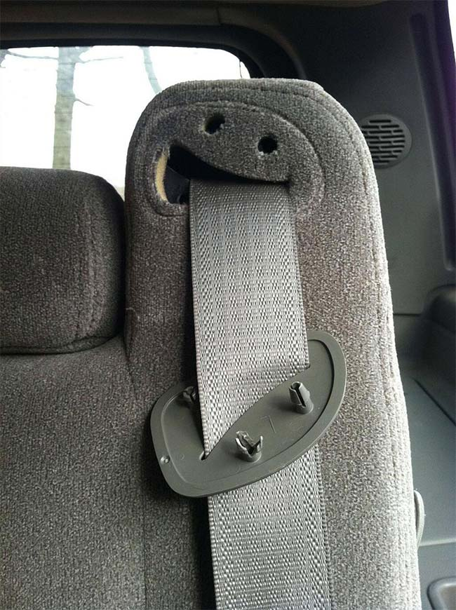 29. Crying Seat Belt