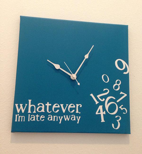 Nice 3 Creative Wall Clocks Designs