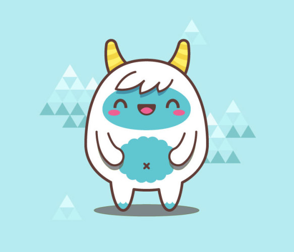 3-simple-kawaii-yeti