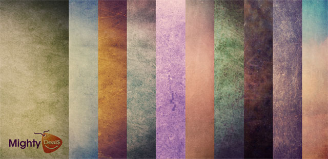 3. Colorful Grunge Textures