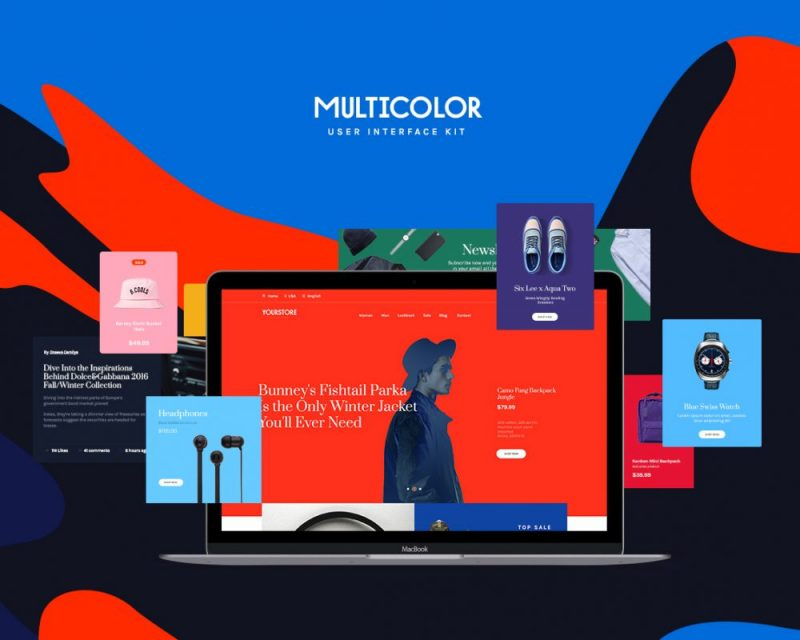 Multicolor UI Kit