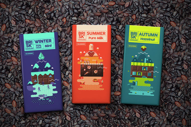 3.Brisk Chocolates
