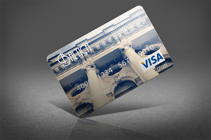 3.St. Petersburg State Politechnic University Bank Card