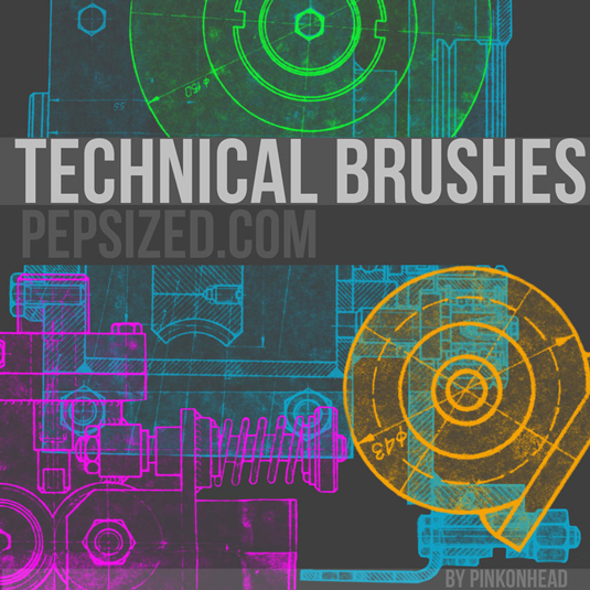 35Technical brushes