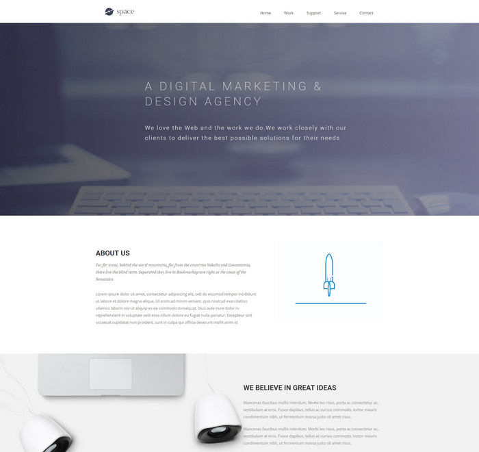 40 Free Responsive HTML5 CSS3 Templates 2018