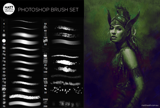 38Photoshop brush set
