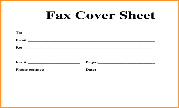 a guide on how to write a fax cover sheet