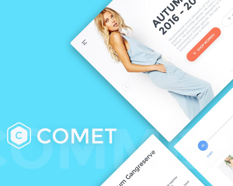 Comet Web UI Kit