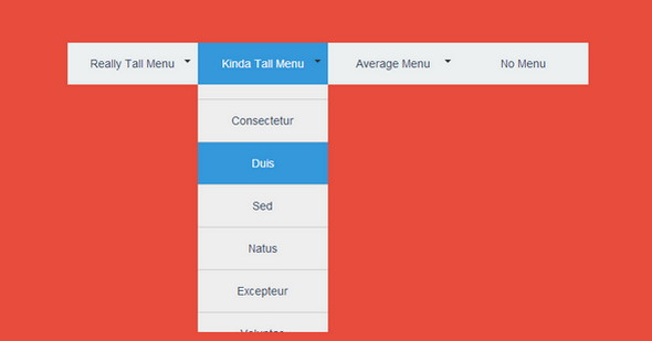 25 Free and Amazing Dropdown Menus in HTML5, jQuery and CSS3