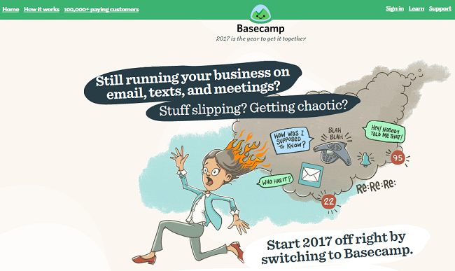 BaseCamp-Project Management Software