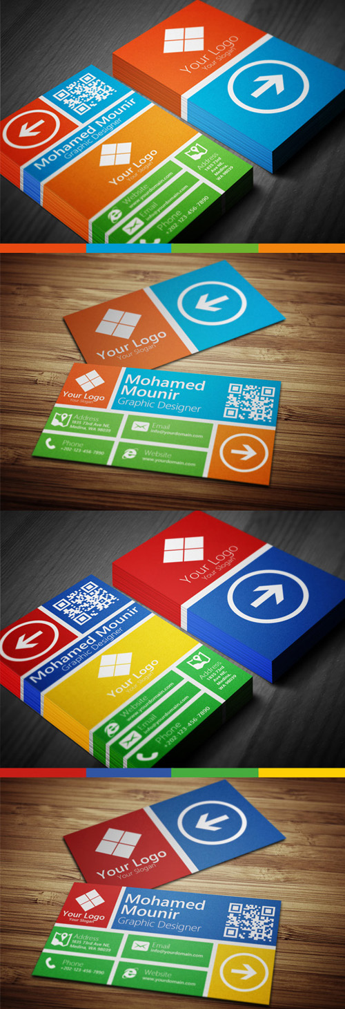 20 best corporate business cards designs for your inspiration metro style multipurpose business card colourmoves