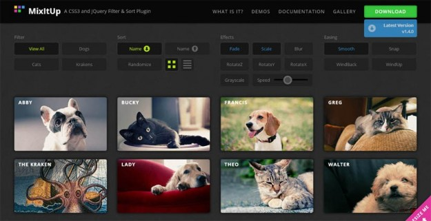 Mixit Up-jQuery Plugin
